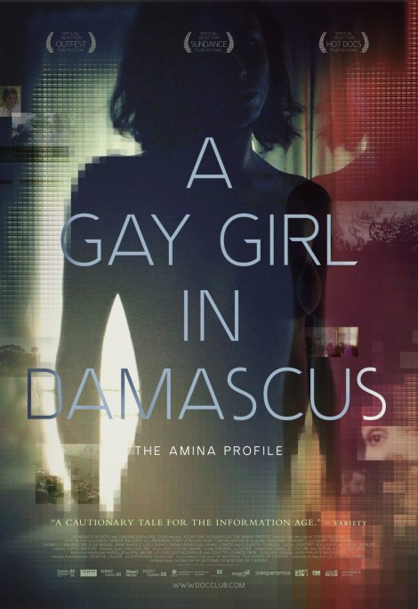 A Gay Girl in Damascus Poster