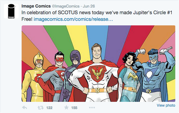 Boom and Image Hypocrisy Pushes Comics Backward
