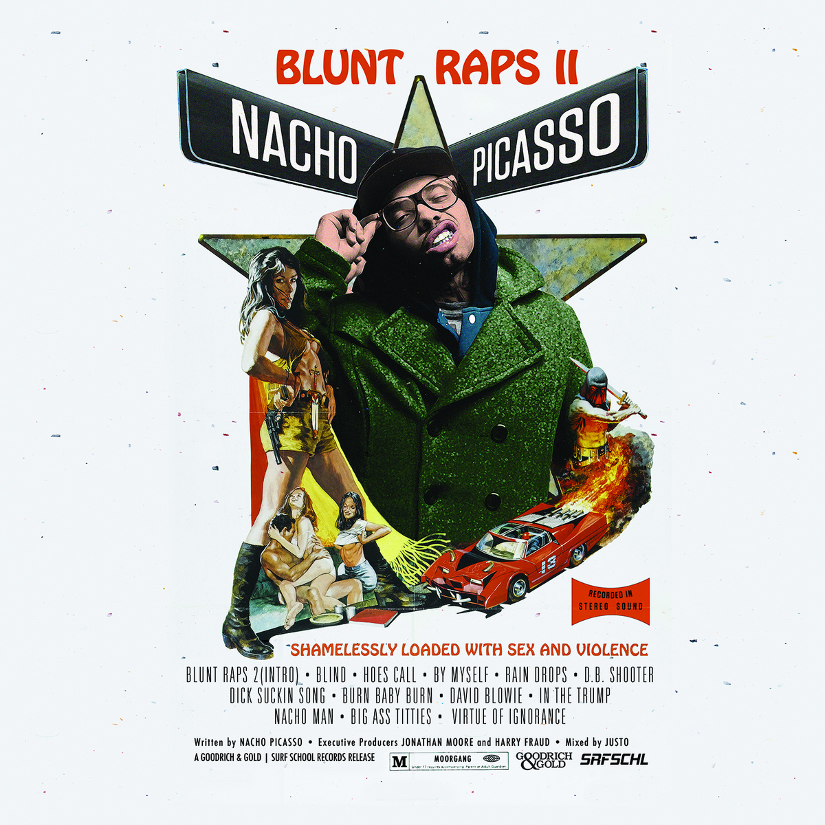 Nacho Picasso's Blunt Raps 2 is an Excellent Introduction to the Sith Lord of Seattle Rap