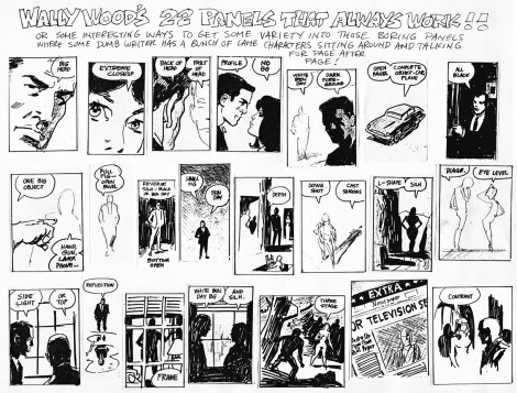 Wally Wood Panels That Always Work