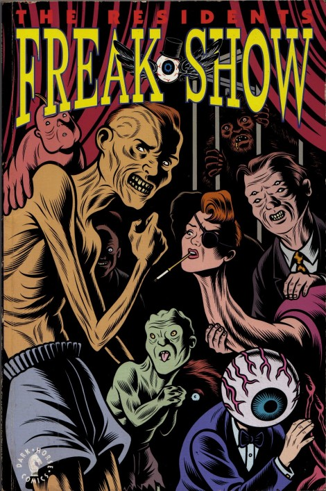 Freak Show Comic Charles Burns