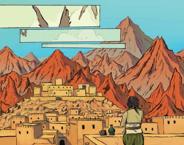 Anatomy of a Page: Sloane Leong, Claire Gibson and Marian Churchland's From Under Mountains #1
