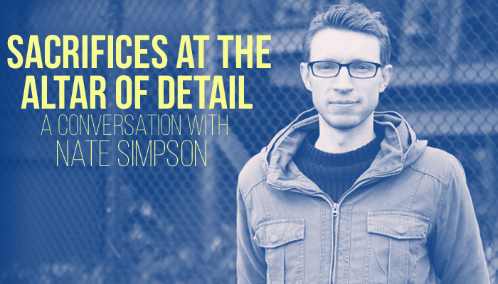 Sacrifices at the Altar of Detail: A Conversation with Nate Simpson