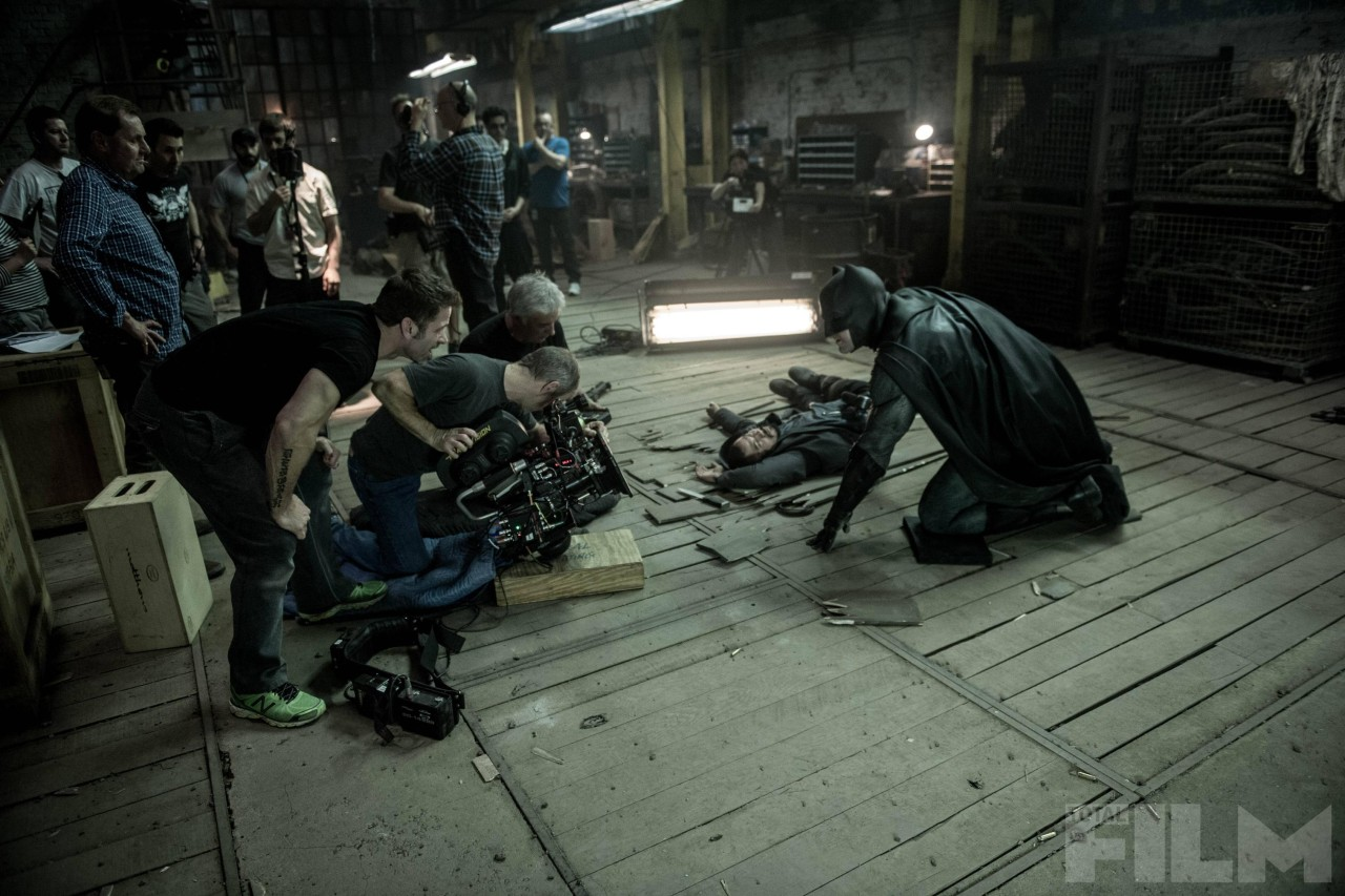 What Are Thooose on the Set of Batman v. Superman?