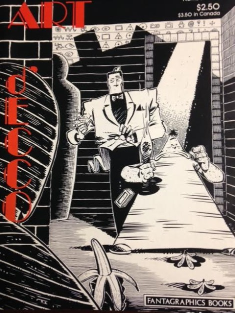 Art D'ecco Roger Langridge Fantagraphics