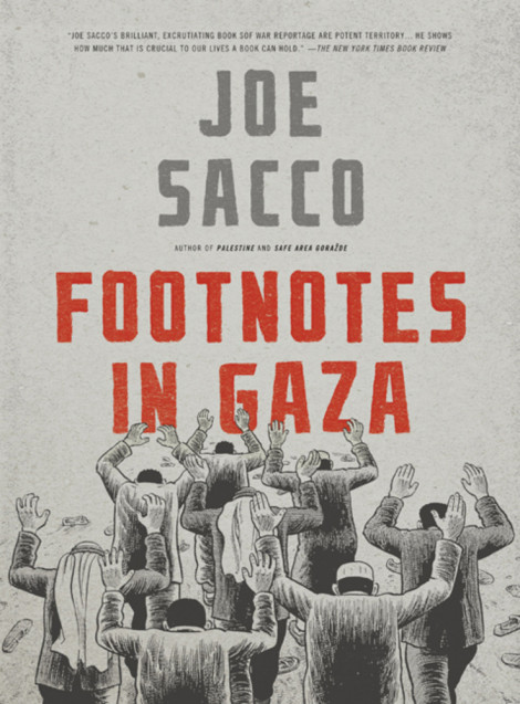 Footnotes in Gaza Joe Sacco