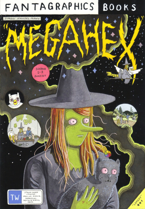 Megahex Simon Hanselmann Fantagraphics