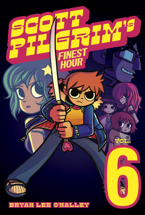 Scott Pilgrim Volume 6 Bryan Lee O'Malley
