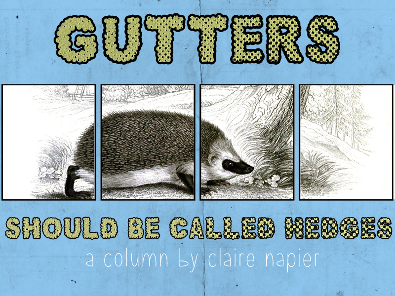 Gutters Should Be Called Hedges Claire Napier