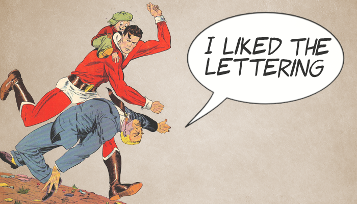 I Liked the Lettering: Reviewing Lucifer #1