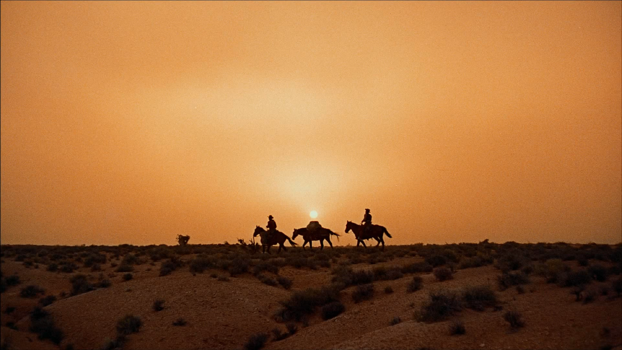 The Searchers - dessert - sunset