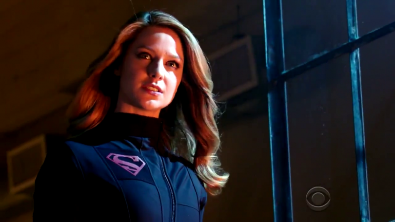 "Supergirl Goes To Incredible Heights by ""Falling."""
