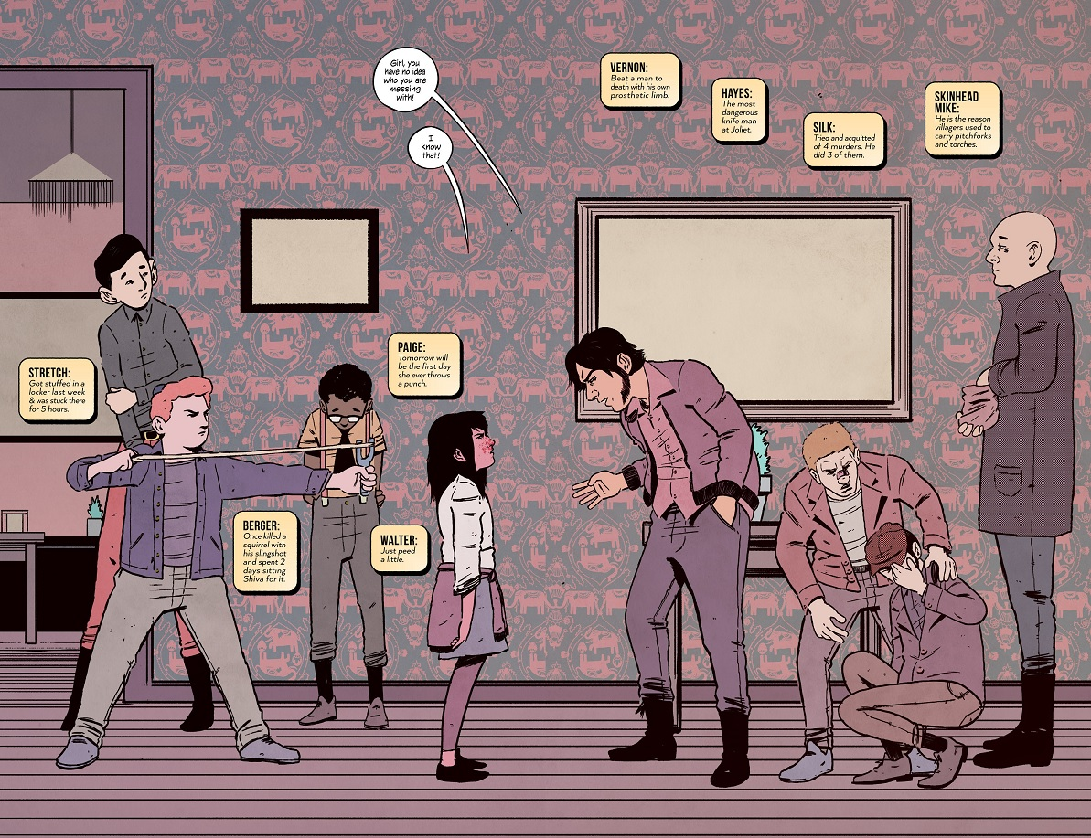 4 Kids Walk Into a Bank Tyler Boss Matthew Rosenberg