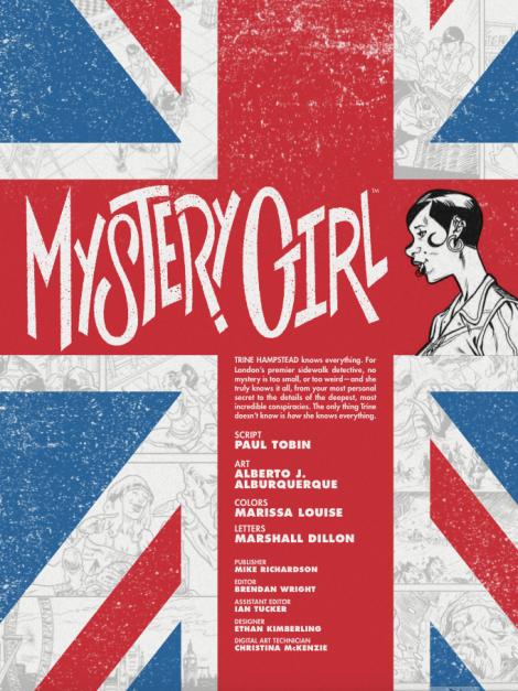 Mystery Girl 1