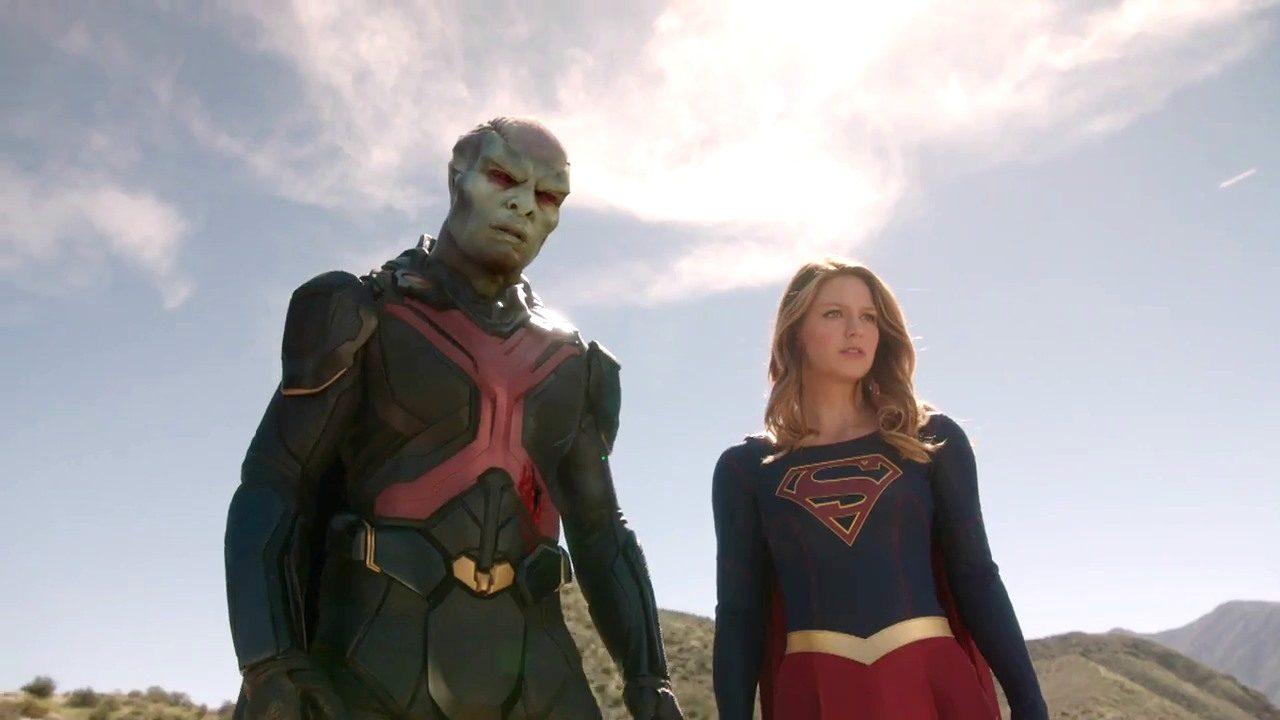 Supergirl J'onn J'onz