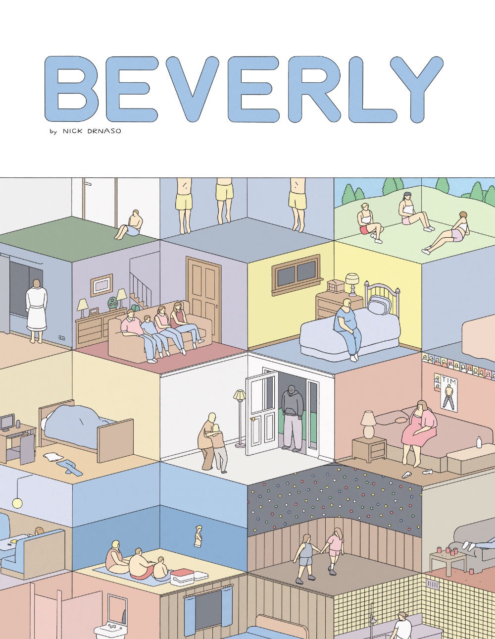 Red Ants Underneath: Nick Drnaso's Beverly is a Soft Palette of Middle-American Suburban Ennui Porn Shoved Into Little Boxes