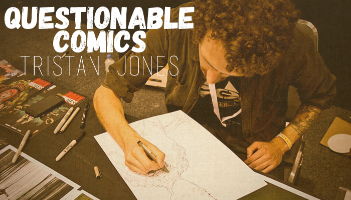 Questionable Comics: Justin Greenwood and Tristan Jones