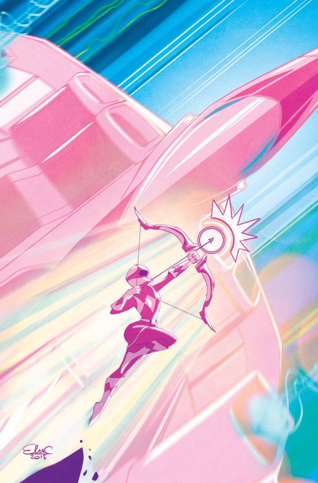 Power Rangers: Pink Needs To Let The Art Do More Talking