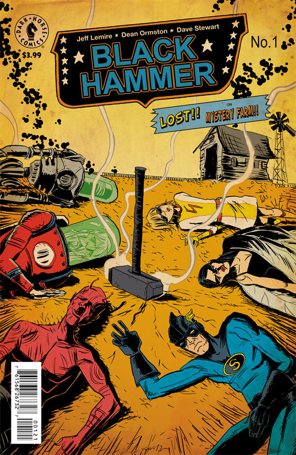 Black Hammer #1 is Absurdly Sulky Nostalgia