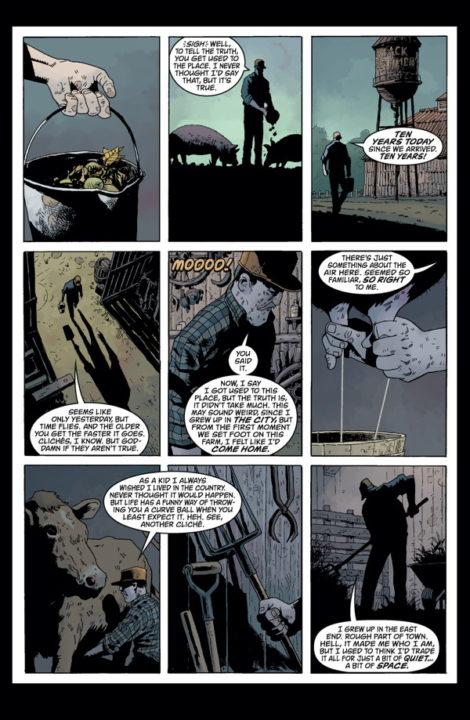 Black Hammer Dean Ormston Jeff Lemire Dark Horse