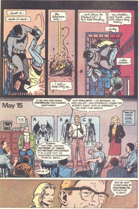 Batman Year One David Mazzucchelli Frank Miller