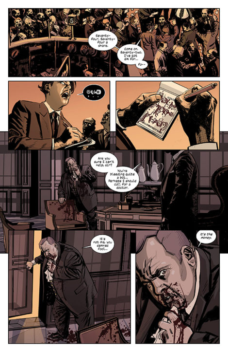 Black Monday Murders Tomm Coker Jonathan Hickman Image Comics