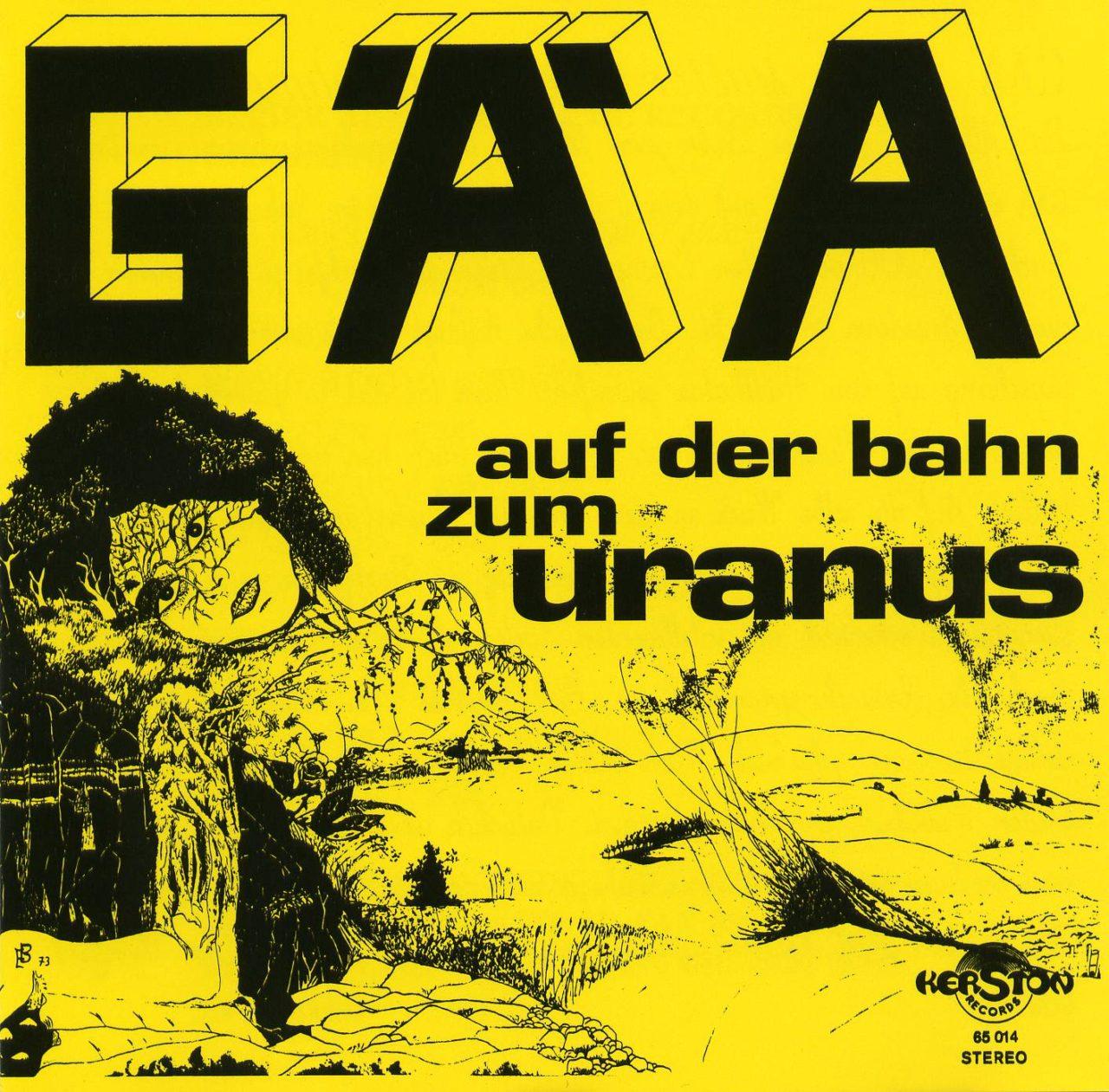 Fossil Records: GAA's Auf Der Bahn Zum Uranus
