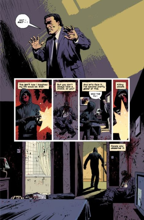 Kill or Be Killed Ed Brubaker Sean Phillips Image Comics
