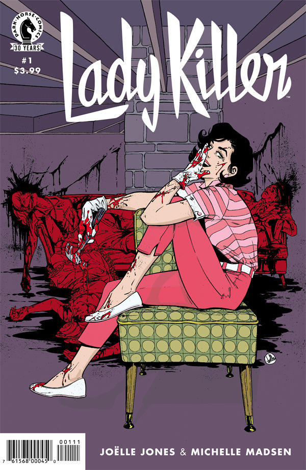 Being a Housewife Assassin Seems Boring in Lady Killer 2 #1