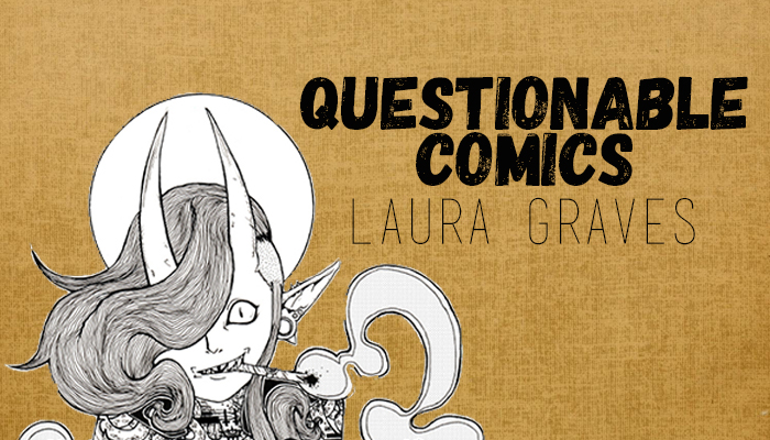 Questionable Comics: Sandra Lanz and Laura Graves