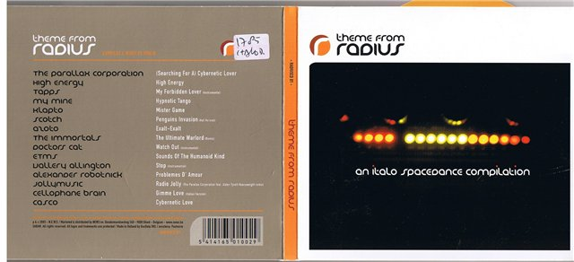 Fossil Records: Theme from Radius: An Italo Spacedance Compilation
