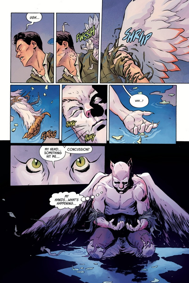 Angel Catbird Johnnie Christmas Tamra Bonvillain Margaret Atwood