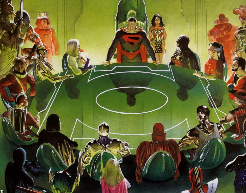 Kingdom Come Alex Ross Justice League