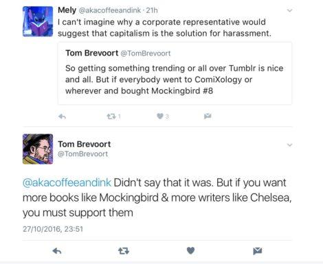 Tom Brevoort Chelsea Cain