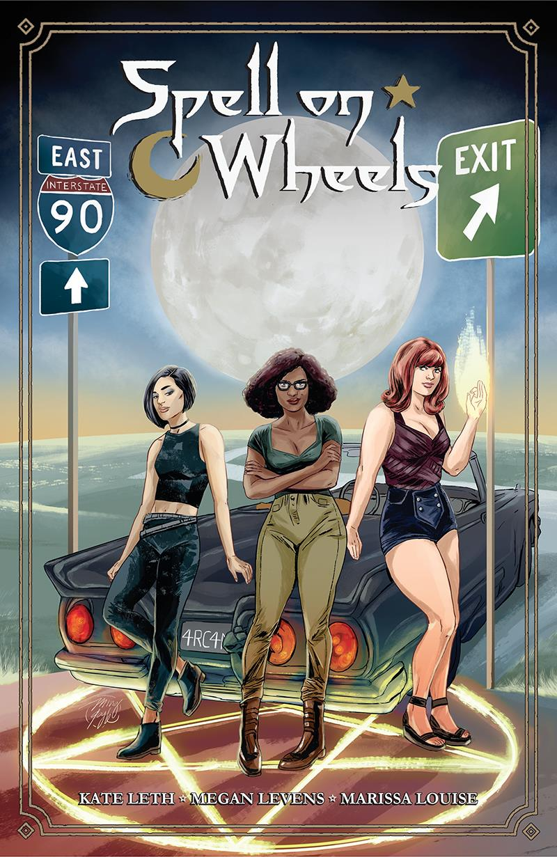 Kate Leth, Megan Levens Give Us the Start of a Satisfyingly Fun Romp with Spell on Wheels