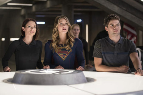 Supergirl Winn DEO
