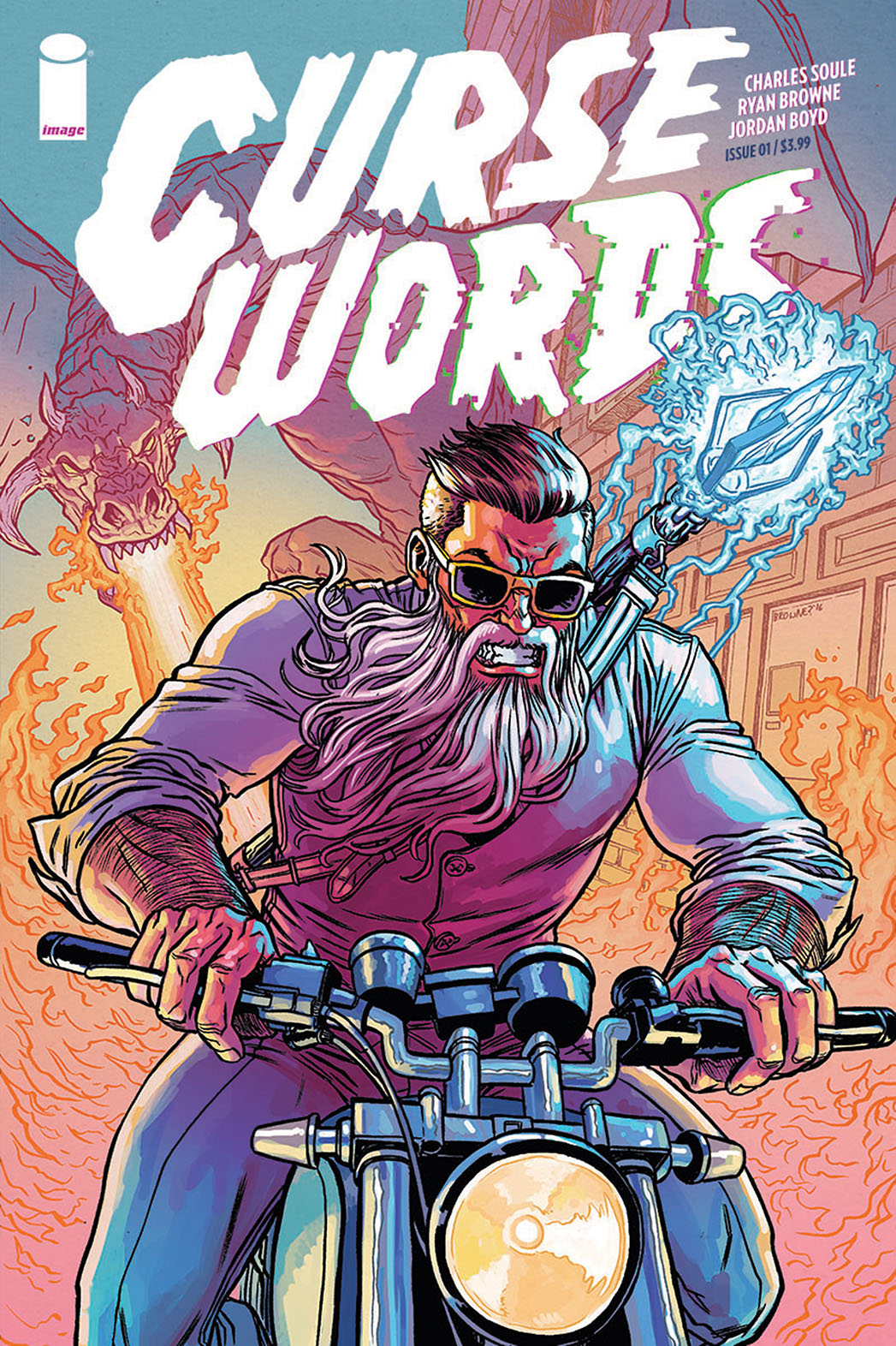 Curse Words #1 is an Unrelenting Punchline to a Joke No One Set Up