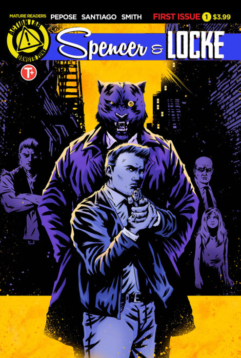 Spencer and Locke David Pepose Jorge Santiago
