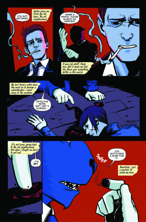 Spencer and Locke Jorge Santiago David Pepose