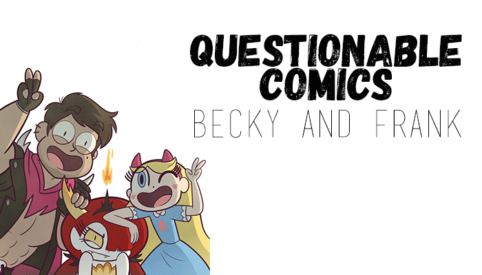 Questionable Comics: Becky & Frank and Rachael Stott