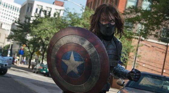 Captain America Winter Soldier Shield