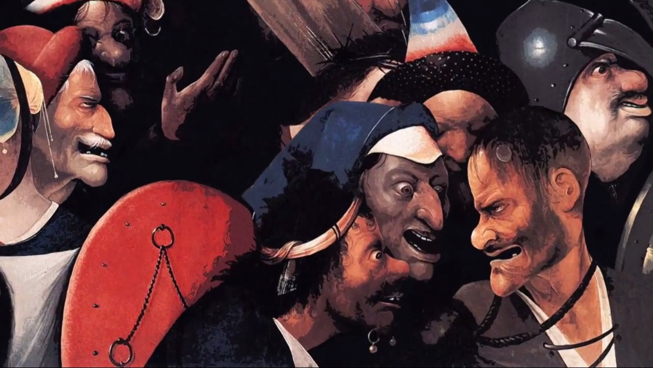 Odonis Odonis Hieronymous Bosch Order in the Court