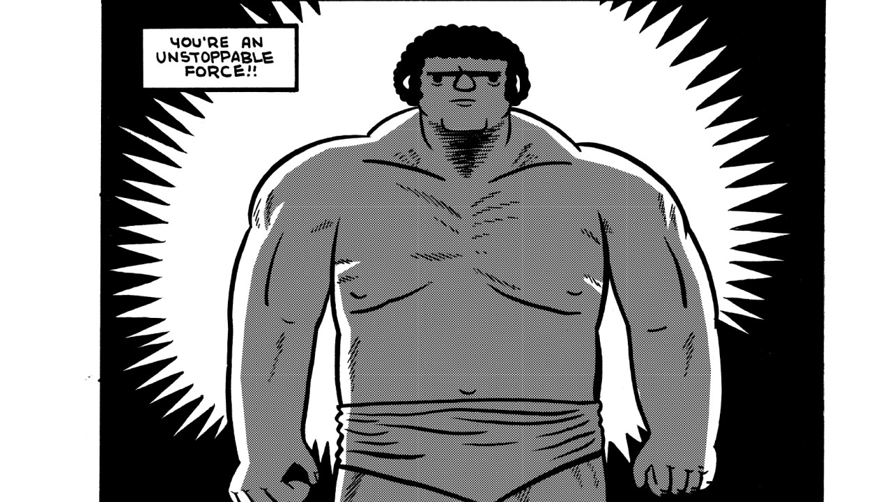 Andre the Giant Unstoppable Force