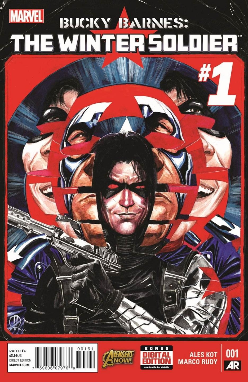Bucky Barnes Winter Soldier Marco Rudy Ales Kot Marvel