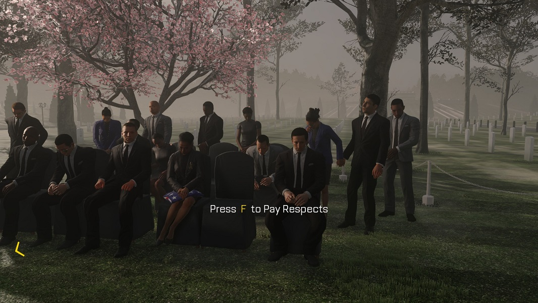 Press F to Pay Respects, Call of Duty: Advanced Warfare