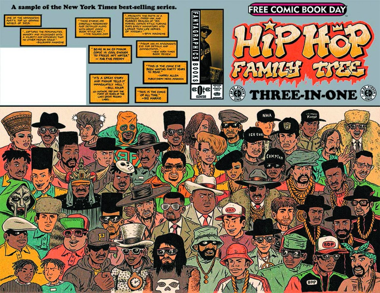 Hip Hop Family Tree Three in One