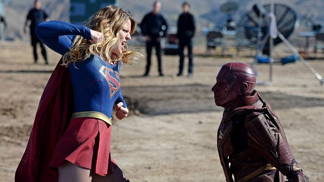Supergirl Melissa Benoist Red Tornado CBS