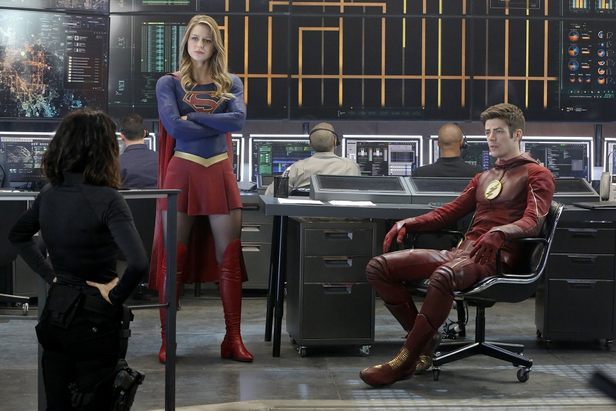 Supergirl Flash World's Finest