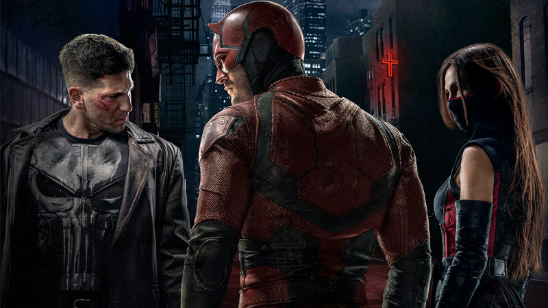 Daredevil Elektra Punisher